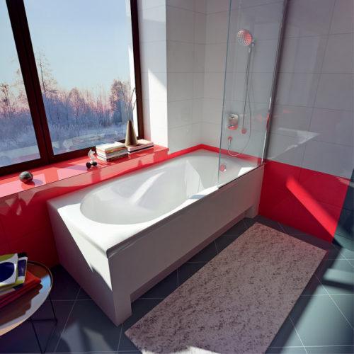 Ванна акриловая Koller Pool Delfi 180×80