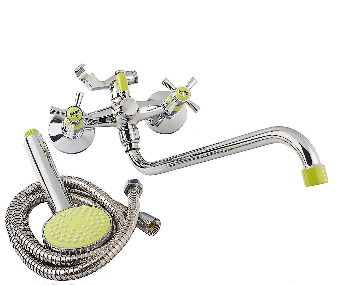 Смеситель для ванны POTATO P54-11 P2254-11