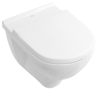 Чаша унитаза VILLEROY & BOCH O.Novo Direct Flush 5660HR01 (с сиденьем Soft Close)