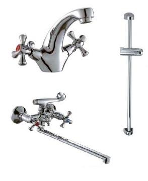 Набор смесителей для ванны Haiba Smes Standard