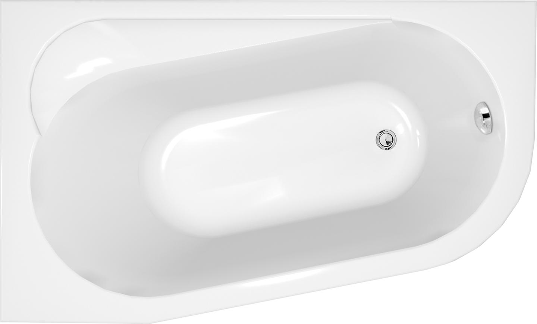 Ванна акриловая Cersanit Ariza левая 160 S301-091