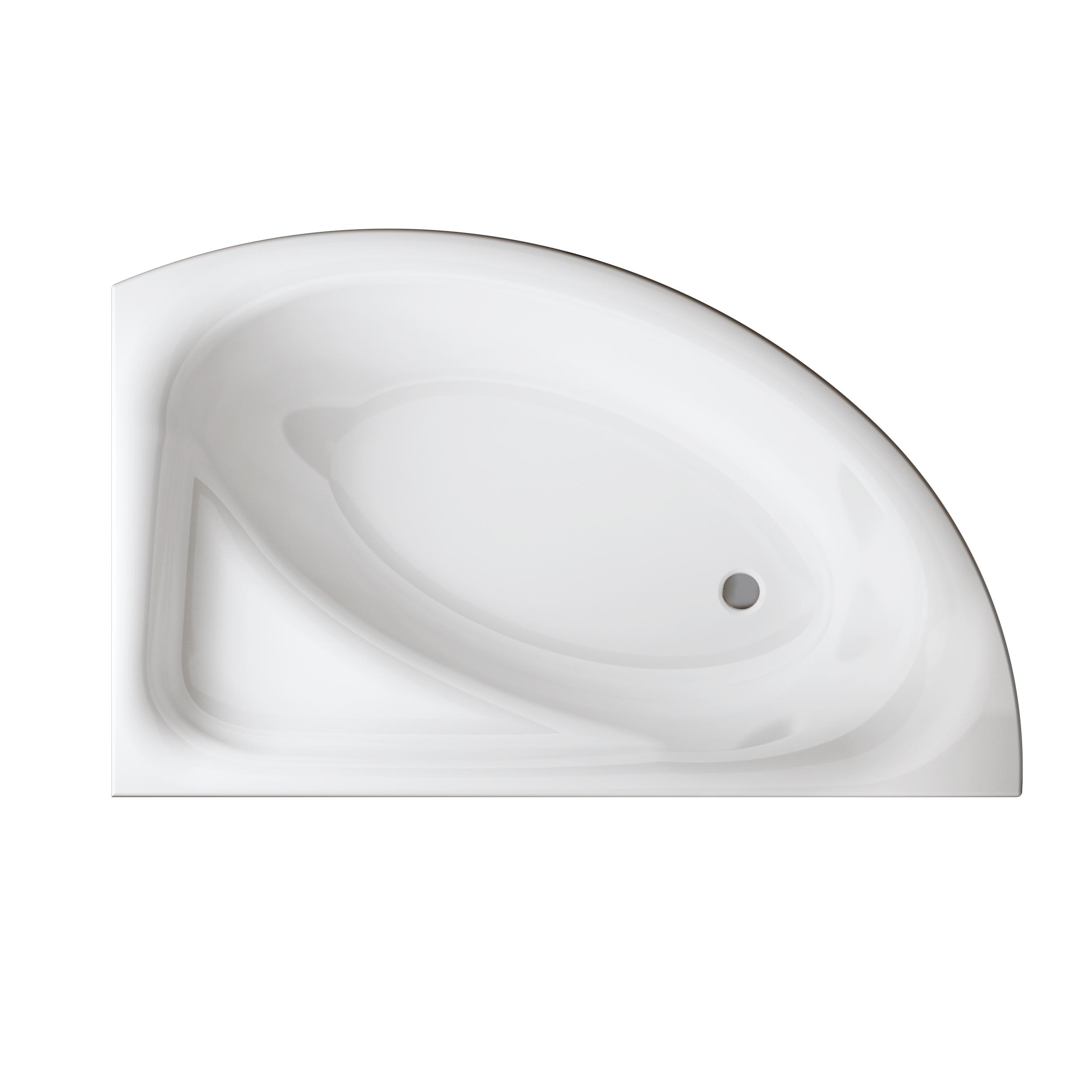 Ванна акриловая Cersanit Meza правая 170 S301-125