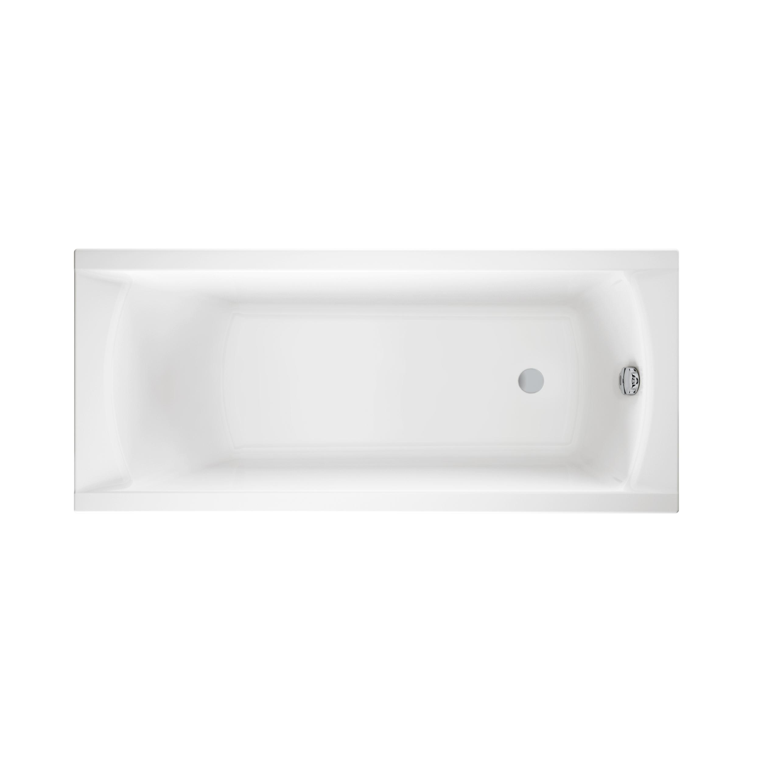 Ванна акриловая Cersanit Korat 160 01006