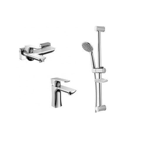 Набор смесителей для ванны IMPRESE VALTICE 10320+05320+9014003
