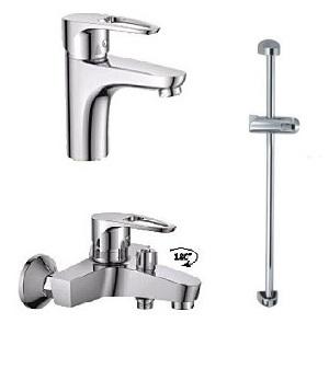 Набор смесителей для ванны Haiba XIDE Premium
