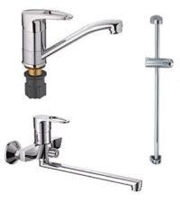 Набор смесителей для ванны Haiba XIDE Standard