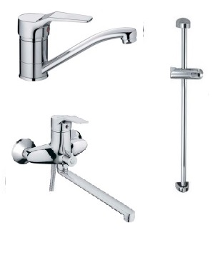 Набор смесителей для ванны Haiba Zeon Standard