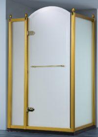 Дверь в нишу в золоте Volle 10-22-430 G