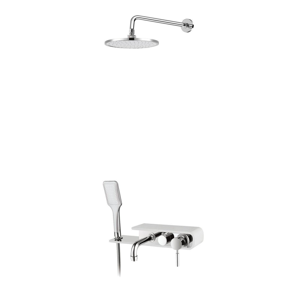 Душевая панель Q-tap SHOWER PANEL QT WHI- 1111