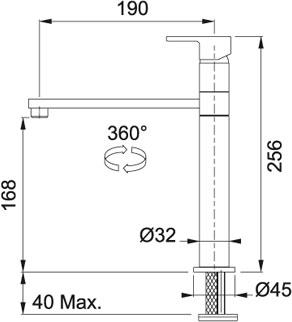 Кухонный смеситель FRANKE KUBIX 115.0250.145