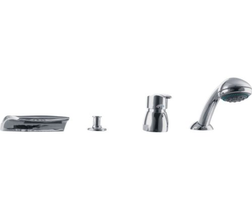 Смеситель для ванны ECA MIX CUBIC М 161 102101109