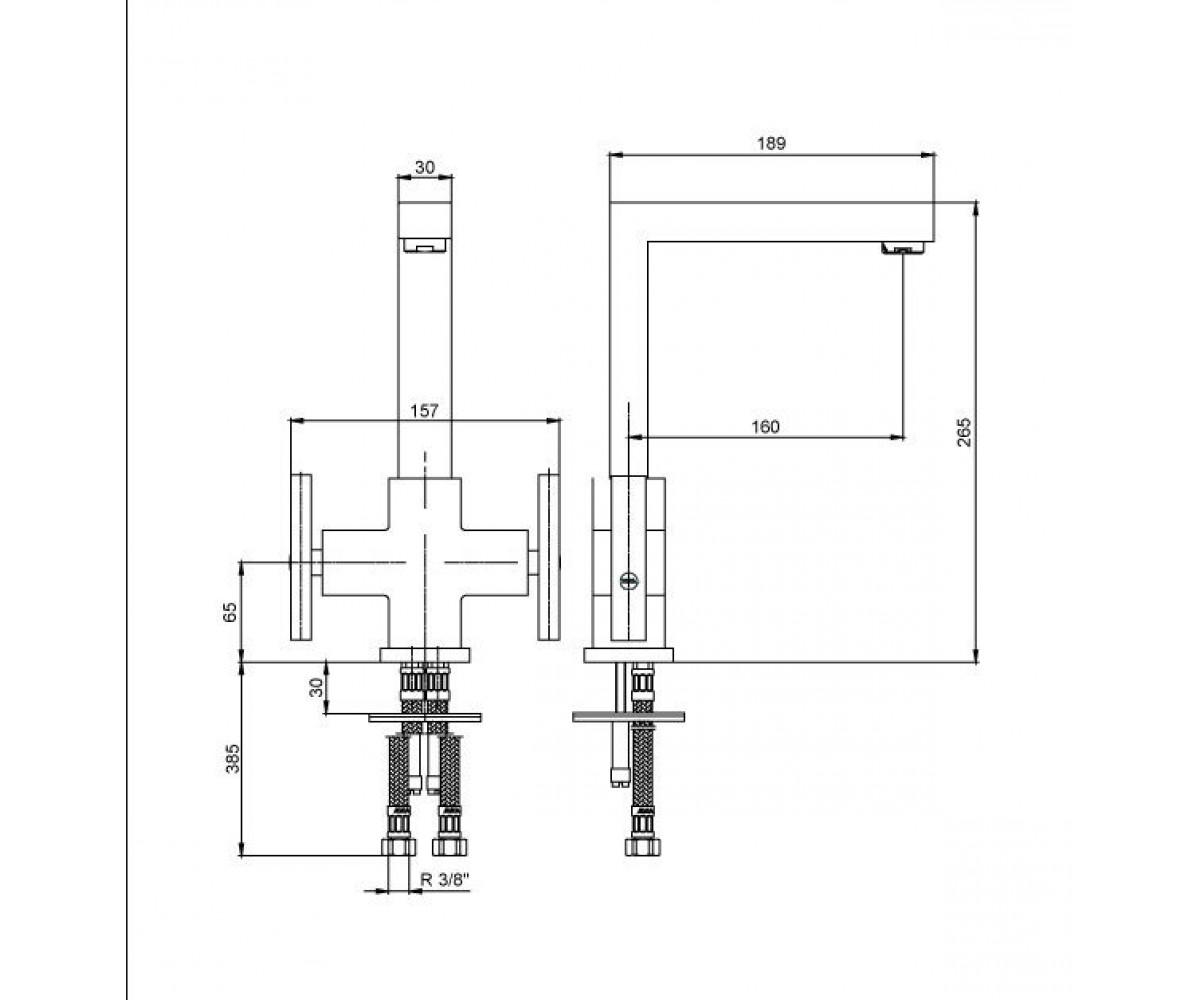Смеситель для кухни ECA ELEA М 062 102108579