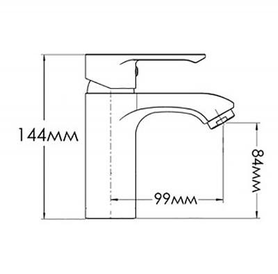 Смеситель для раковин FORMIX ОКТАВА FMAL0336