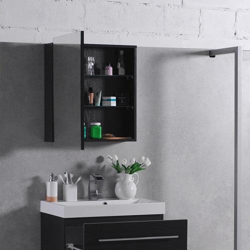 Зеркальный шкаф Буль-Буль MC-700 (ШЗ-700) венге