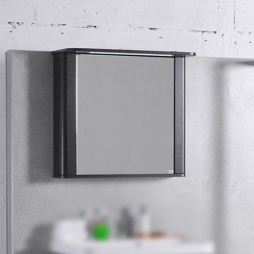 Зеркальный шкаф Буль-Буль MC Carla 800 (ШЗ-Carla) венге
