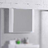 Зеркальный шкаф Буль-Буль MC Carla 800 (ШЗ-Carla w) белый