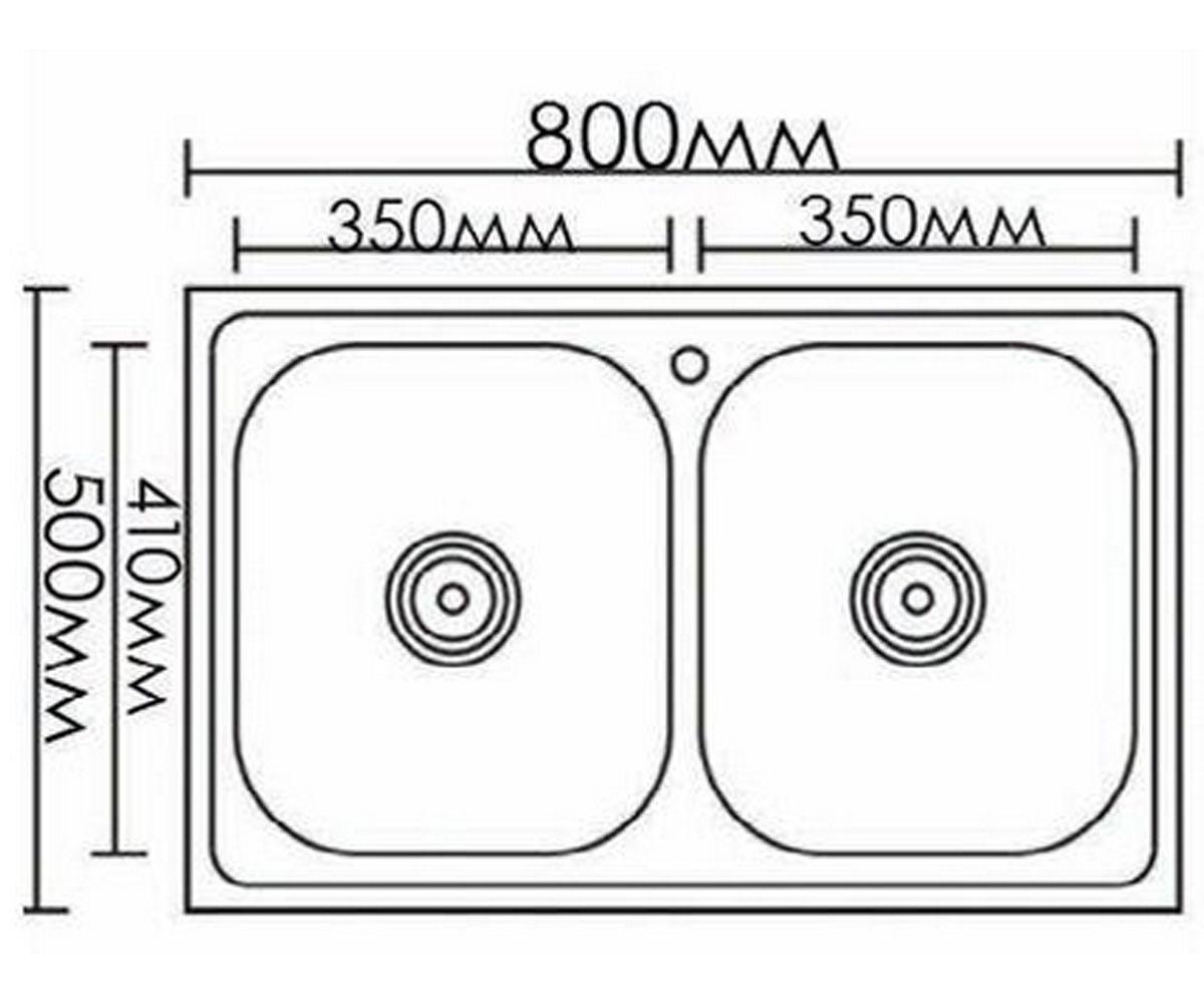 Кухонная мойка FORMIX FM8050DK