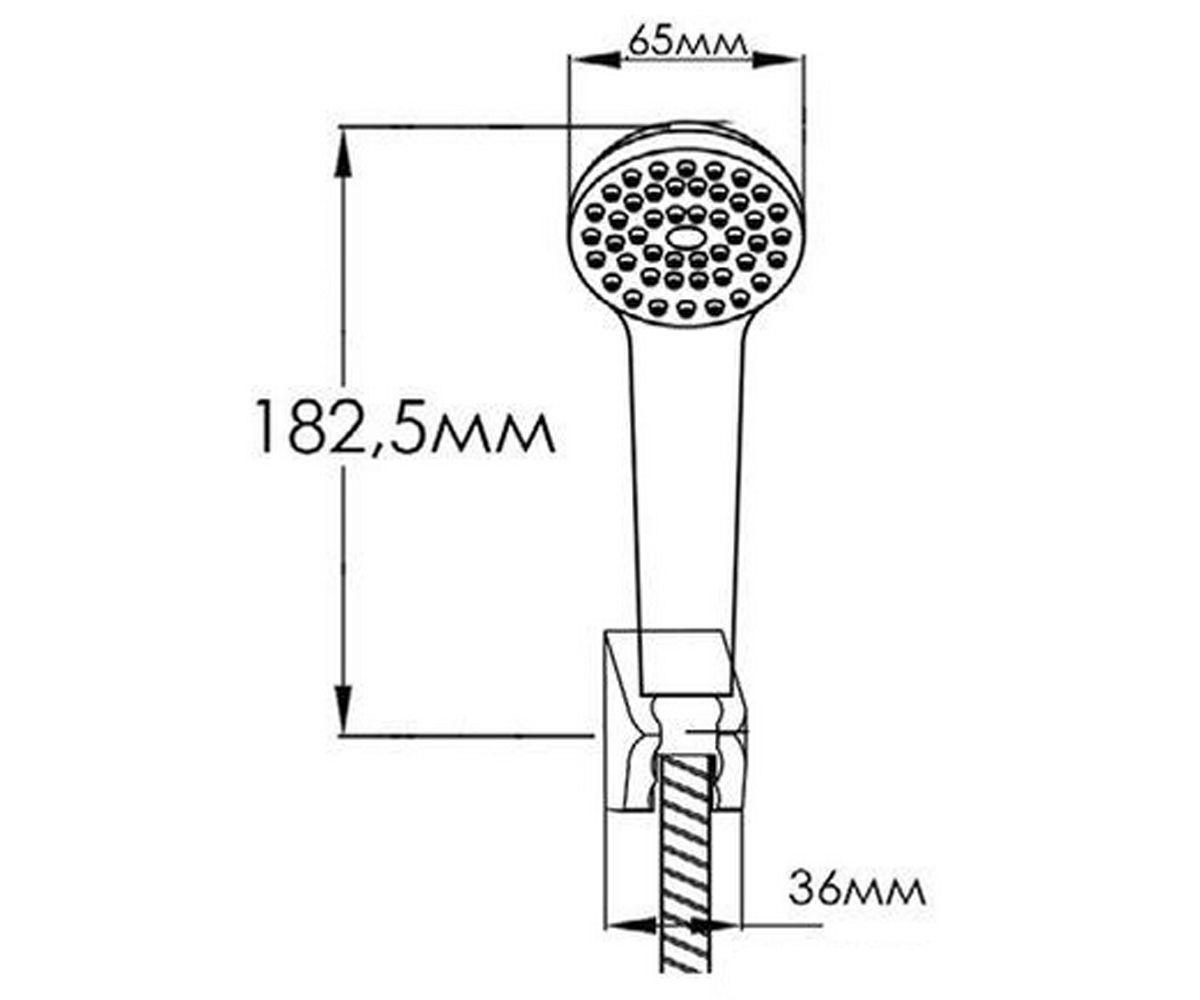 Душевой набор FORMIX ВЕГА FMZ0032