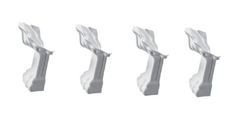 Ножки для ванны Marmorin Fama 566 016 CH