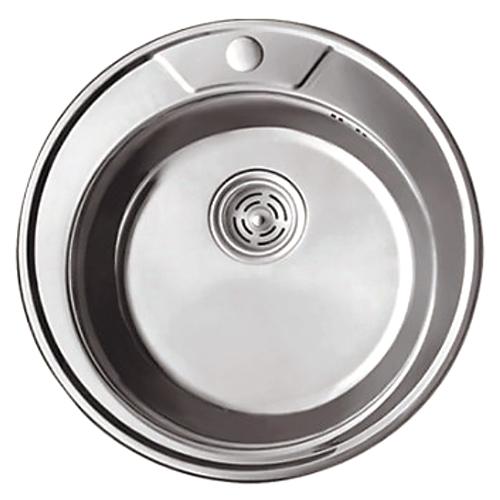 Мойка для кухни Haiba 490 — decor 0,8мм