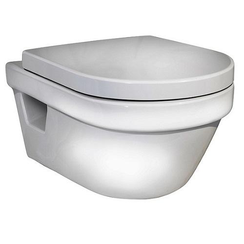 Чаша унитаза Gustavsberg Hygienic Flush 5G84HR01 с сидением softclose