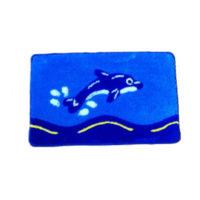 Набор ковриков для ванной комнаты KERAMAC Дельфины new 8000329