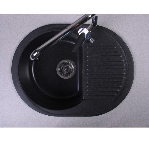 Кухонная мойка Буль-Буль Yuta 102060004 Светло-черная