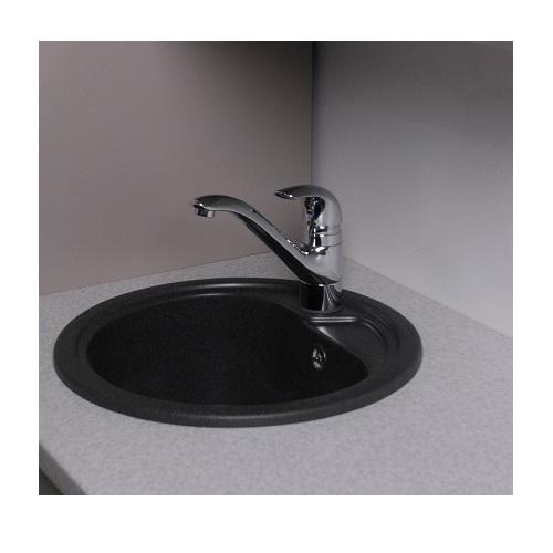 Кухонная мойка Буль-Буль Nevada 104040004 Светло-черная