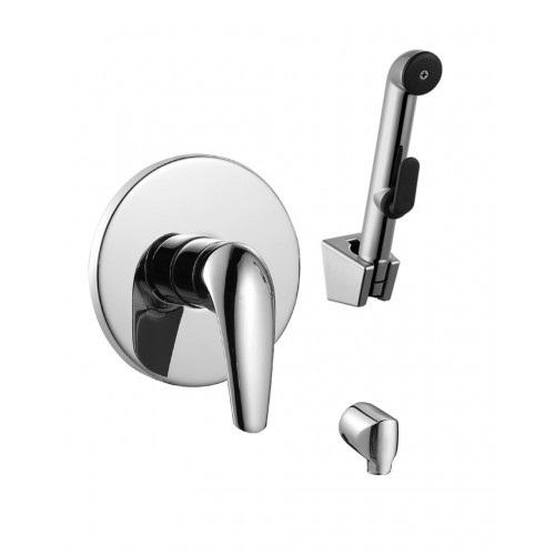 Набор (смеситель скрытого монтажа с гигиеническим душем) Imprese KRINICE VR15110Z-ВТ