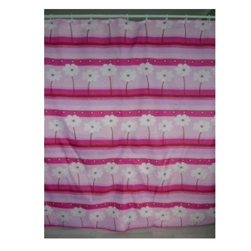 Шторка для ванной KERAMAC 180*180 Розовые цветы new