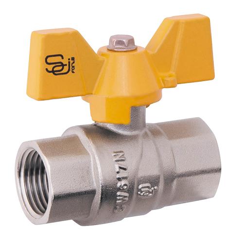 Шаровый кран для газа SD Forte 1″ бабочка гайка гайка SD Forte 1″ БГГ газ