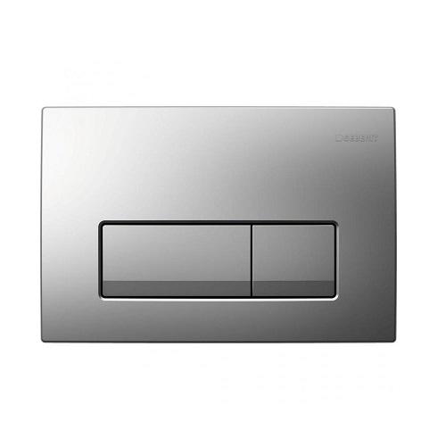 Кнопка для смыва Geberit Delta51 матовый хром 115.105.46.1