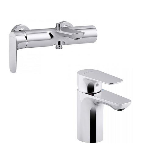 Набор смесителей для ванны JACOB DELAFON ALEO E72282-CP+E72275-CP