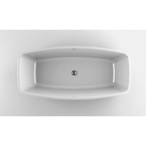 JACUZZI ESPRIT ванна отдельностоящая 170х80 см (слив с системой Click-Clack, комплект ножек)