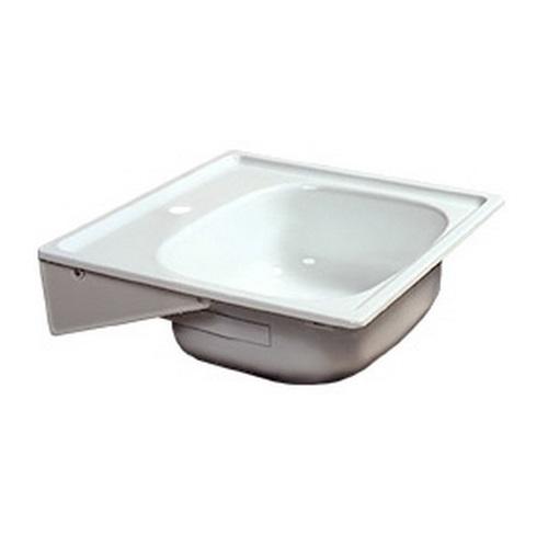 Мойка для кухни стальная эмалированная Pro Steel 50*50
