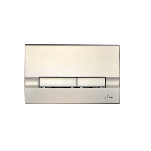 Кнопка для инсталляционных систем Cersanit Slim&Silent ADRIA хром матовый P-BU-ADR-Cm