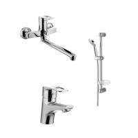 Набор смесителей для ванны IMPRESE LIDICE 35095+05095+5810001