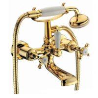 CUTHNA zlato двухвентильный смеситель для ванны, золото 10280 zlato-n IMPRESE