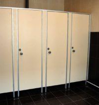 Туалетные перегородки ЭКОНОМ ( 16мм )
