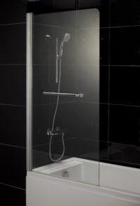 Распашная шторка для ванны Eger 599-02L/R
