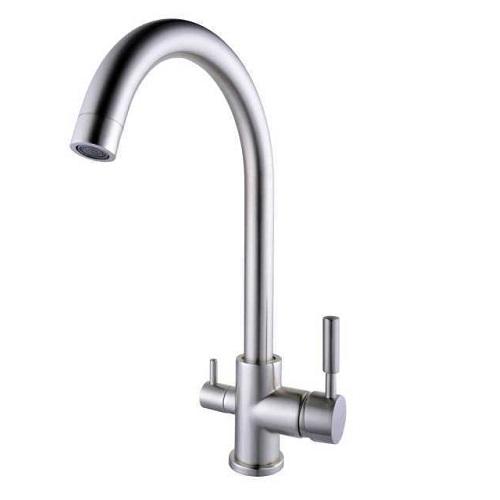 Смеситель для питьевой воды Globus Lux GLLR 0333 LAZER ST нержавейка