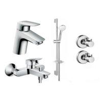 Набор смесителей для ванны Hansgrohe Logis 70 710714411