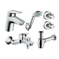Набор смесителей для ванны Hansgrohe Logis 70 710714510