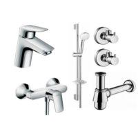Набор смесителей для ванны Hansgrohe Logis 70 710716511