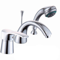 Смеситель для ванны Globus Lux Queensland GLQU-0109