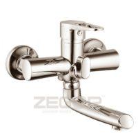 Смеситель для ванны с литым поворотным изливом ZEGOR (TROYA) PUD3-A045H