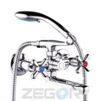 Смеситель для ванны ZEGOR (TROYA) DST3-A725