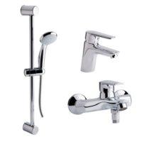 Набор смесителей для ванны Qtap Set CRM 35-311 21802Qtap (Чехия)