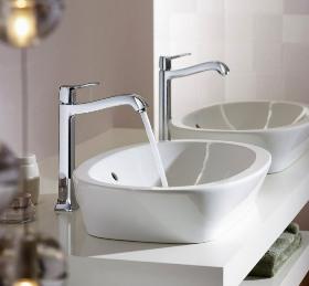 Смесители для высокого умывальника чаши купить барельеф ванной комнаты