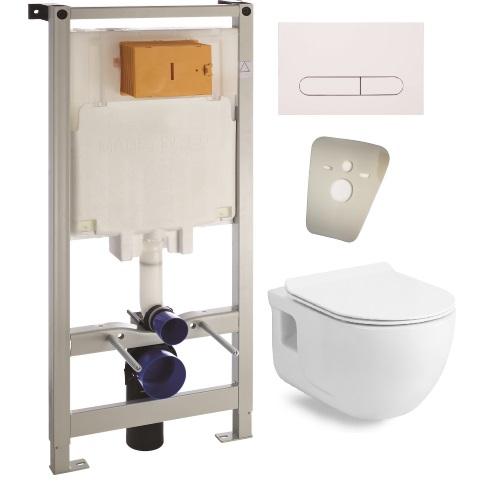 Комплект: инсталляция с подвесным унитазом Volle Master 3в1 + ALTEA унитаз 13-64-267+121919